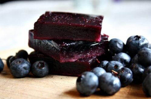 GAPS & Paleo Blueberry Jello