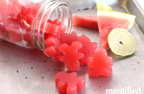 Sour Watermelon Homemade Gummies from Meatified