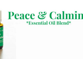 Peace and Calming Essential Oil blend from Young Living