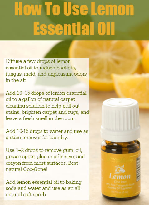 How To Use Lemon Essential Oil