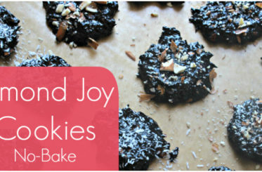 No Bake Almond Joy Cookies from The Coconut Mama