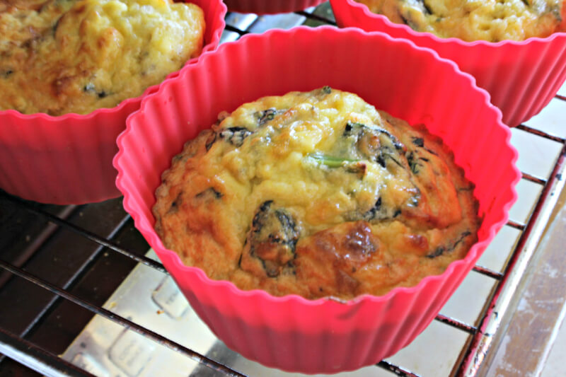 Savory Bacon and Egg Coconut Flour Muffins