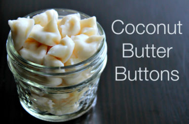 Coconut Butter Buttons from The Coconut Mama