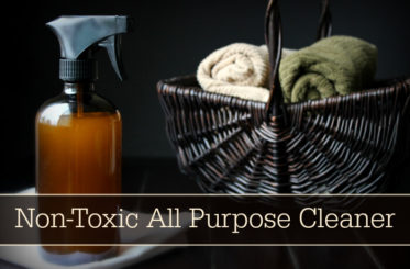 Homemade Non-Toxic All Purpose Cleaner Recipe from The Coconut Mama