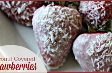 Coconut Covered Strawberries from The Coconut Mama