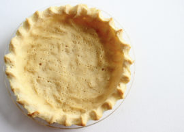 Coconut Flour Pie Crust from The Coconut Mama