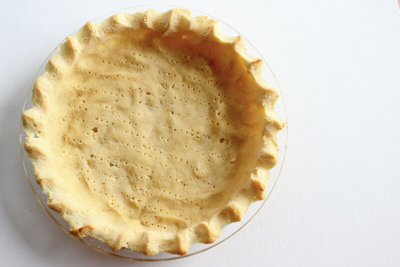 Coconut Flour Pie Crust For Sweet Or Savory Pie