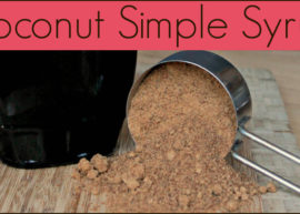 Coconut Simple Syrup from The Coconut Mama