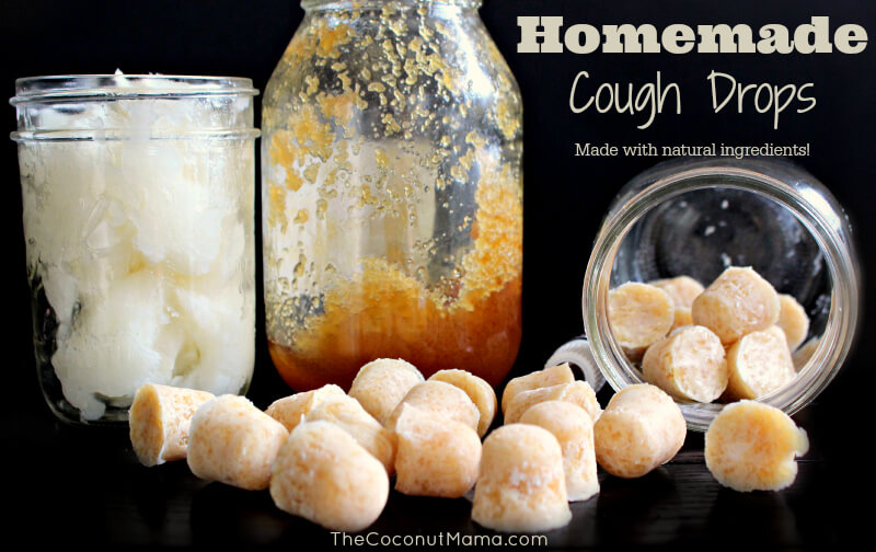 Homemade Cough Drops (All Natural) - The Coconut Mama