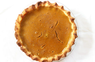 Healthy Gluten Free Pumpkin Pie from The Coconut Mama