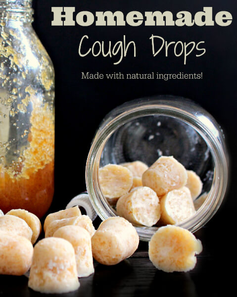 Homemade Cough Drops from The Coconut Mama