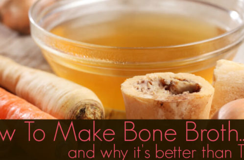 How to Make a Good Bone Broth and Why It's Better than Tums from The Coconut Mama