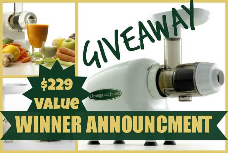 Giveaway Winner Announcment